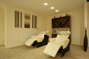 Rear Shampoo Area